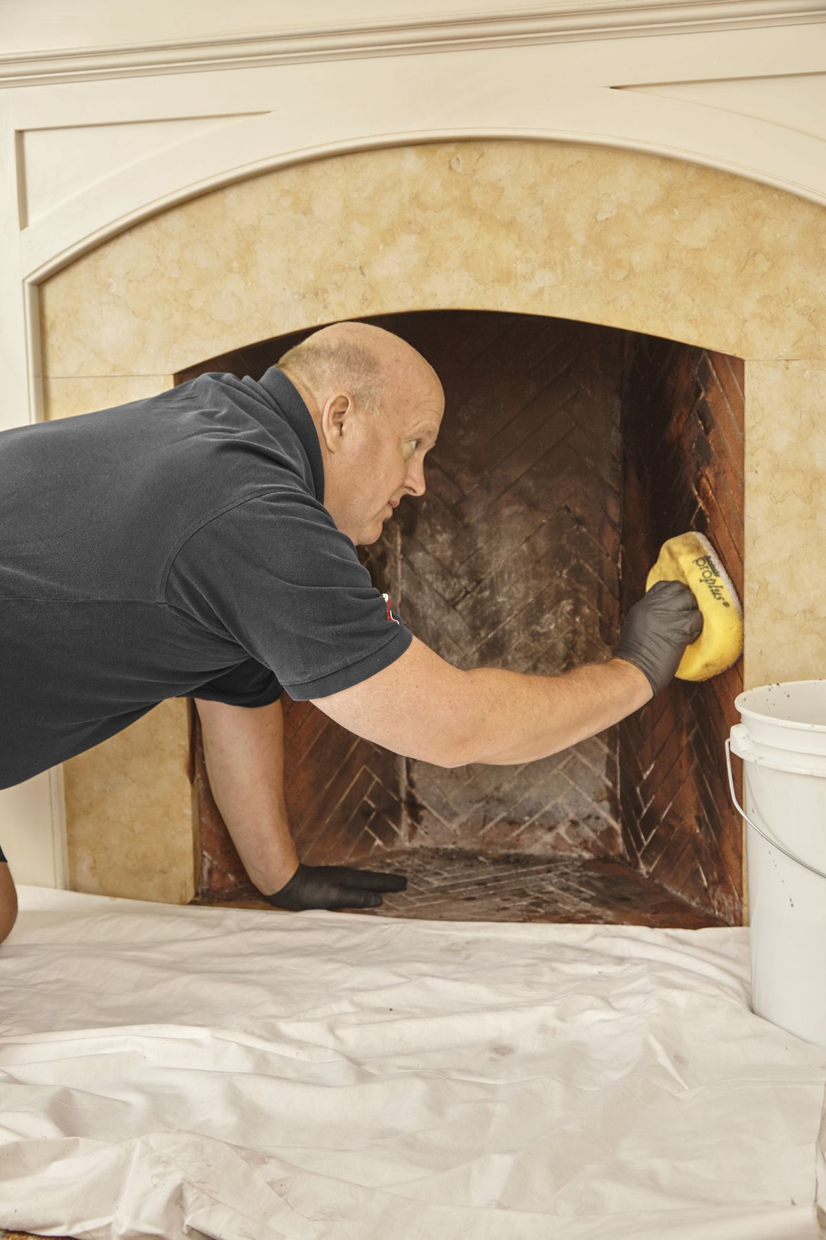 How To Repoint A Brick Fireplace This Old House