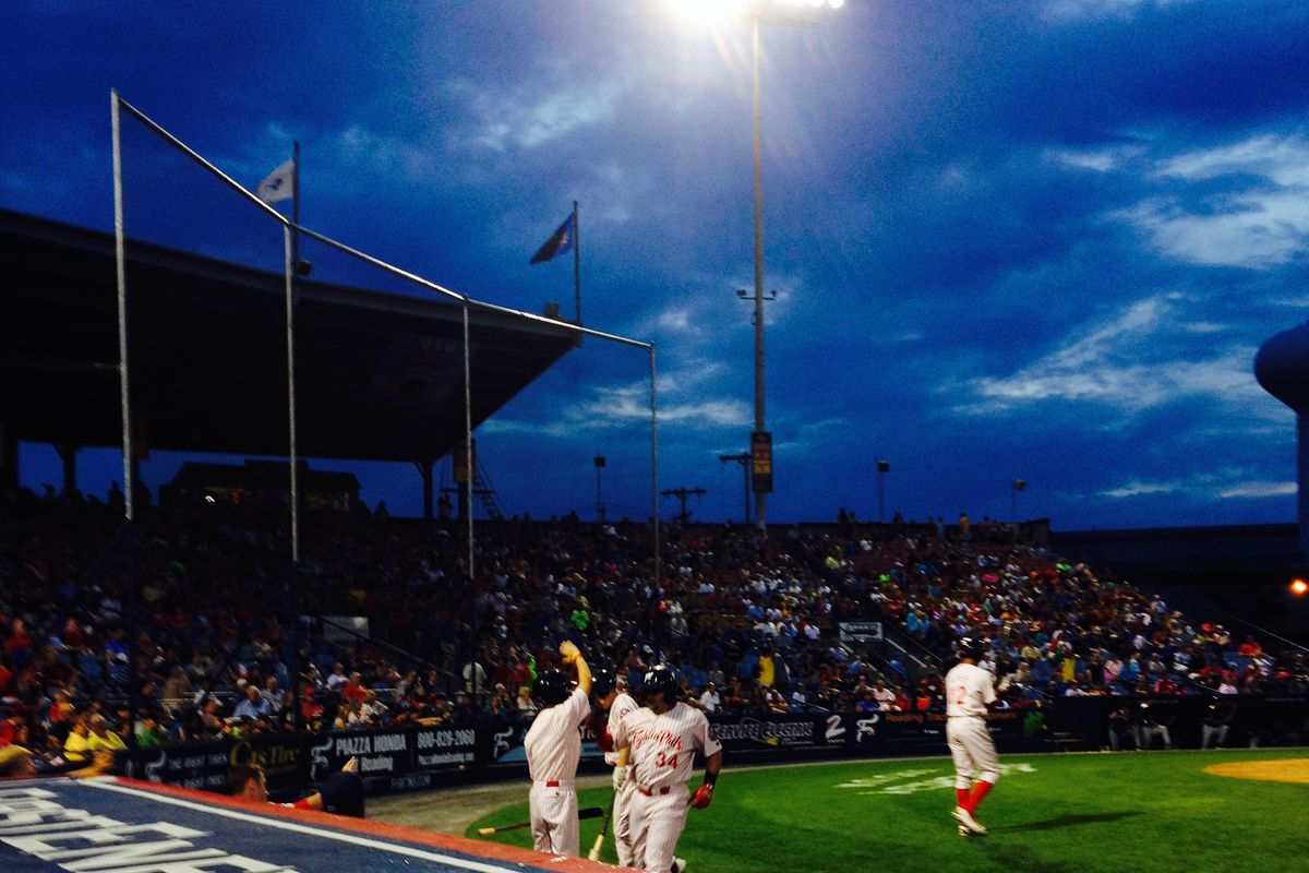 I Call You Out, Crazy Hot Dog Vendor: An Evening At The Ballpark With The Reading Fightins And My Camera