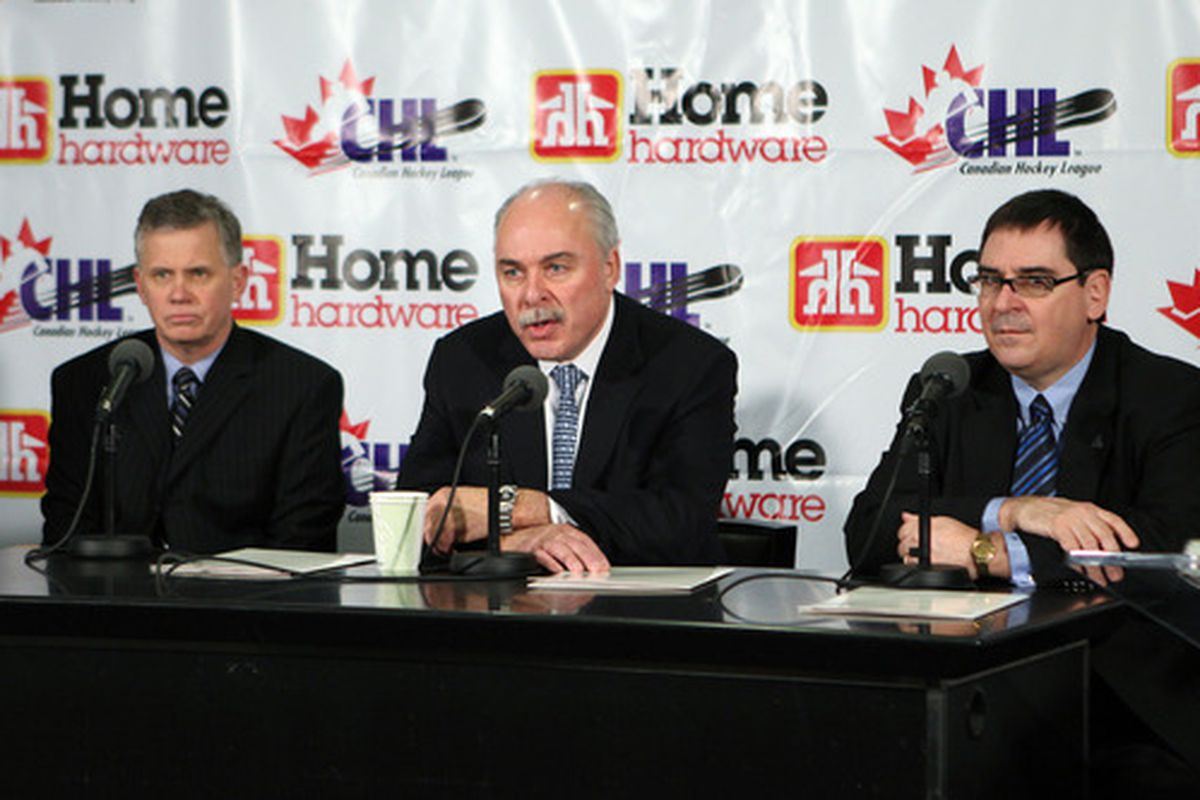 It's a sad day at WCH when CHL commish David Branch isn't the story's biggest villain