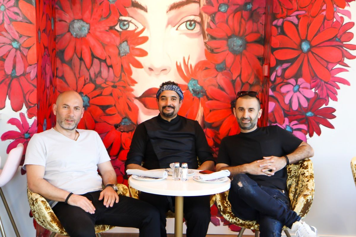 The Ilona team, left to right: George Axiotis, Jesus Preciado, and Irakli Gogitidze
