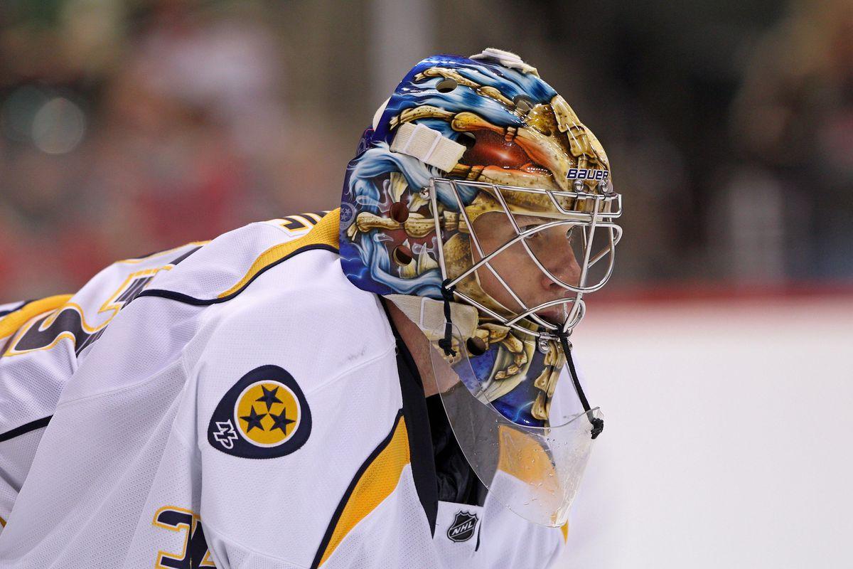 Pekka Rinne is once again the backbone of the Nashville Predators