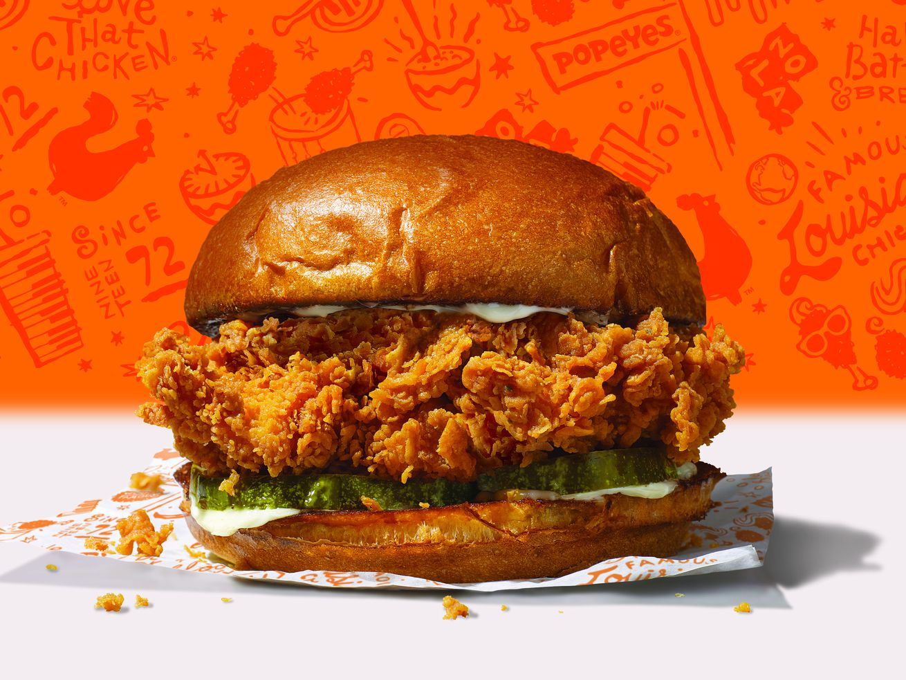 Popeyes Launches Fried Chicken Sandwich by Teaming Up With Restaurant That Ripped Them Off