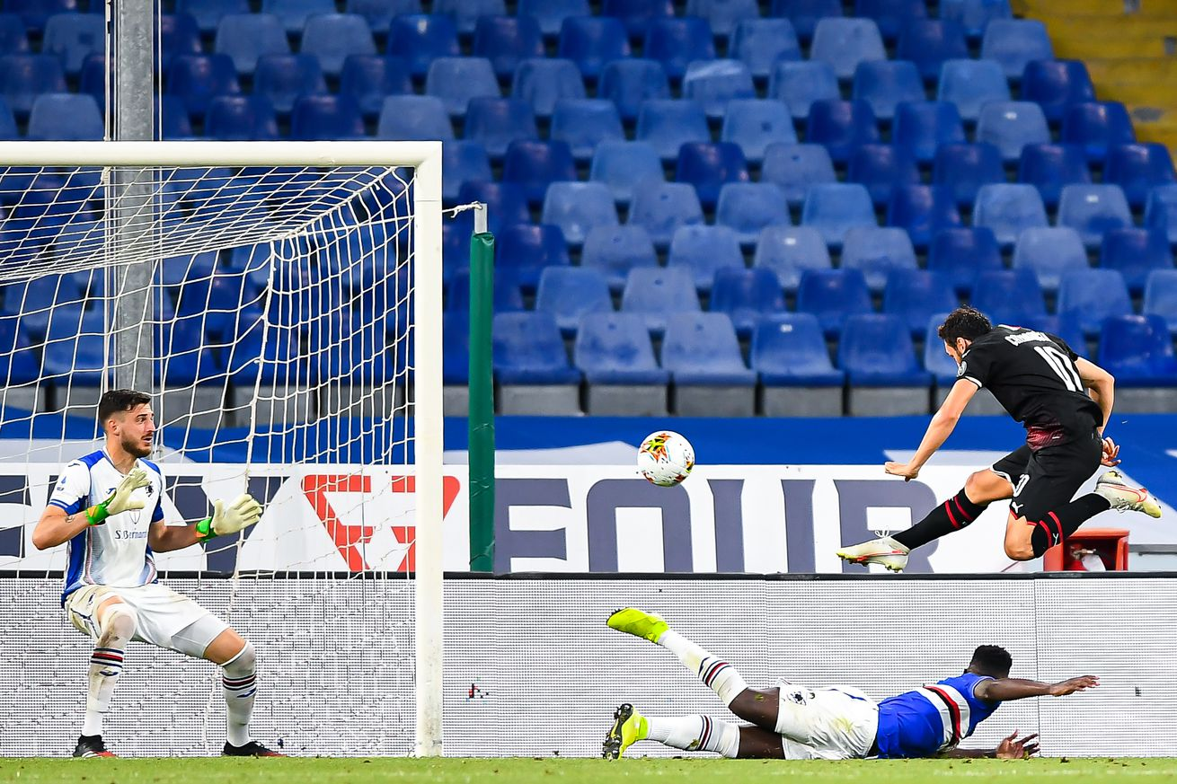 Rossoneri Round Up for Jul 30: AC Milan Beat Sampdoria 4-1 To Secure 6th Place Finish
