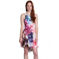 "<b>Shakuhachi</b> Flower Bomb Flip Pinafore Dress, <a href=""http://americantwoshot.com/women/dresses/shakuhachi-flower-bomb-flip-pinafore-dress"">$198</a>"