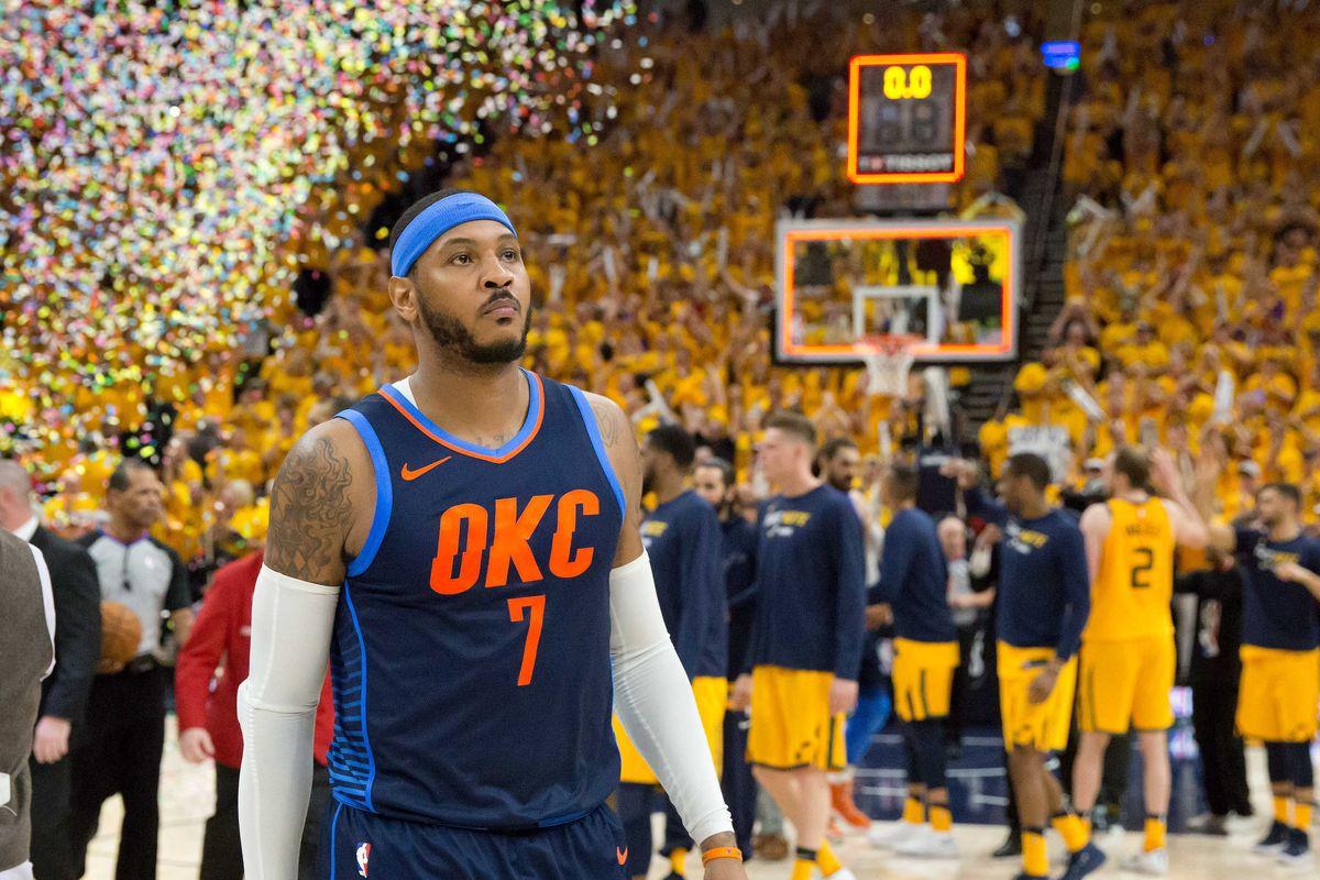 57c9f814 Carmelo Anthony's frustrating Thunder tenure is ending - SBNation.com