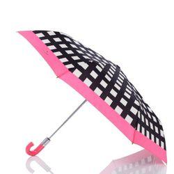 """<strong>Kate Spade</strong> Pop Art Check Umbrella, <a href=""""http://www.katespade.com/pop-art-check-umbrella/PSRU1205,default,pd.html?dwvar_PSRU1205_color=016&start=1&cgid=accessories-umbrellas"""">$78</a>"""