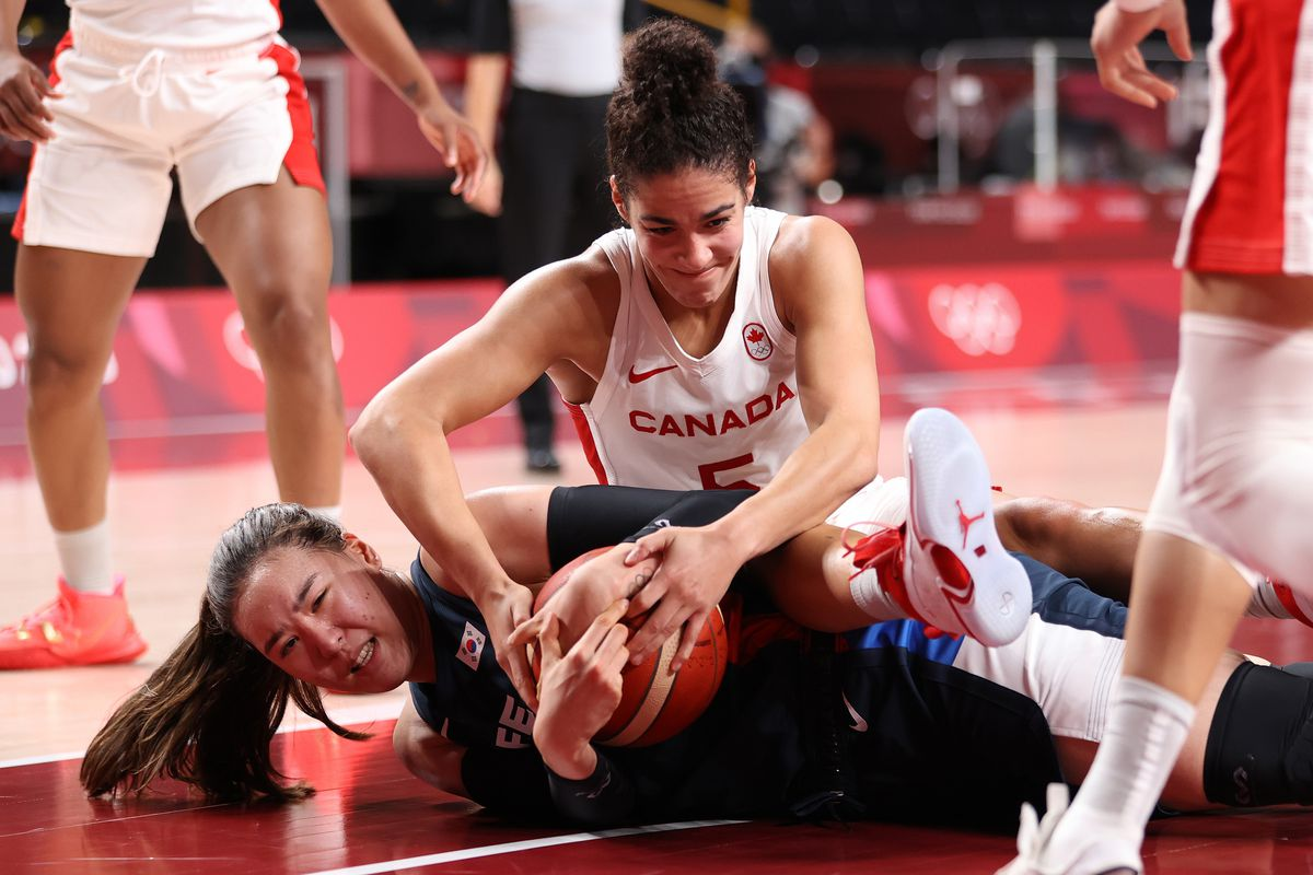 Canada v Korea Women's Basketball - Olympics: Day 6