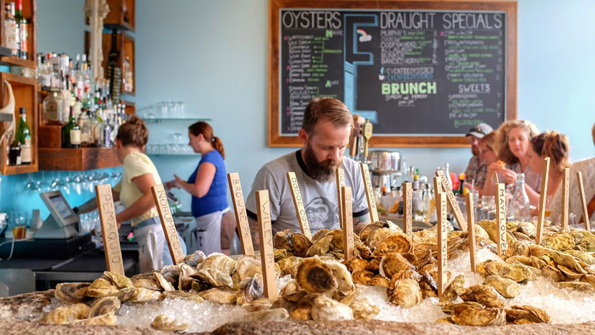 an epic maine food tour eventide vinland slab fore street five