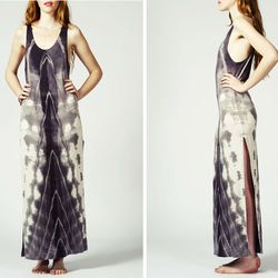 "<b>Mary Meyer</b> Sunburst maxi dress, <a href=""http://www.marymeyerclothing.com/products/sunburst-maxi-1"">$142</a>"