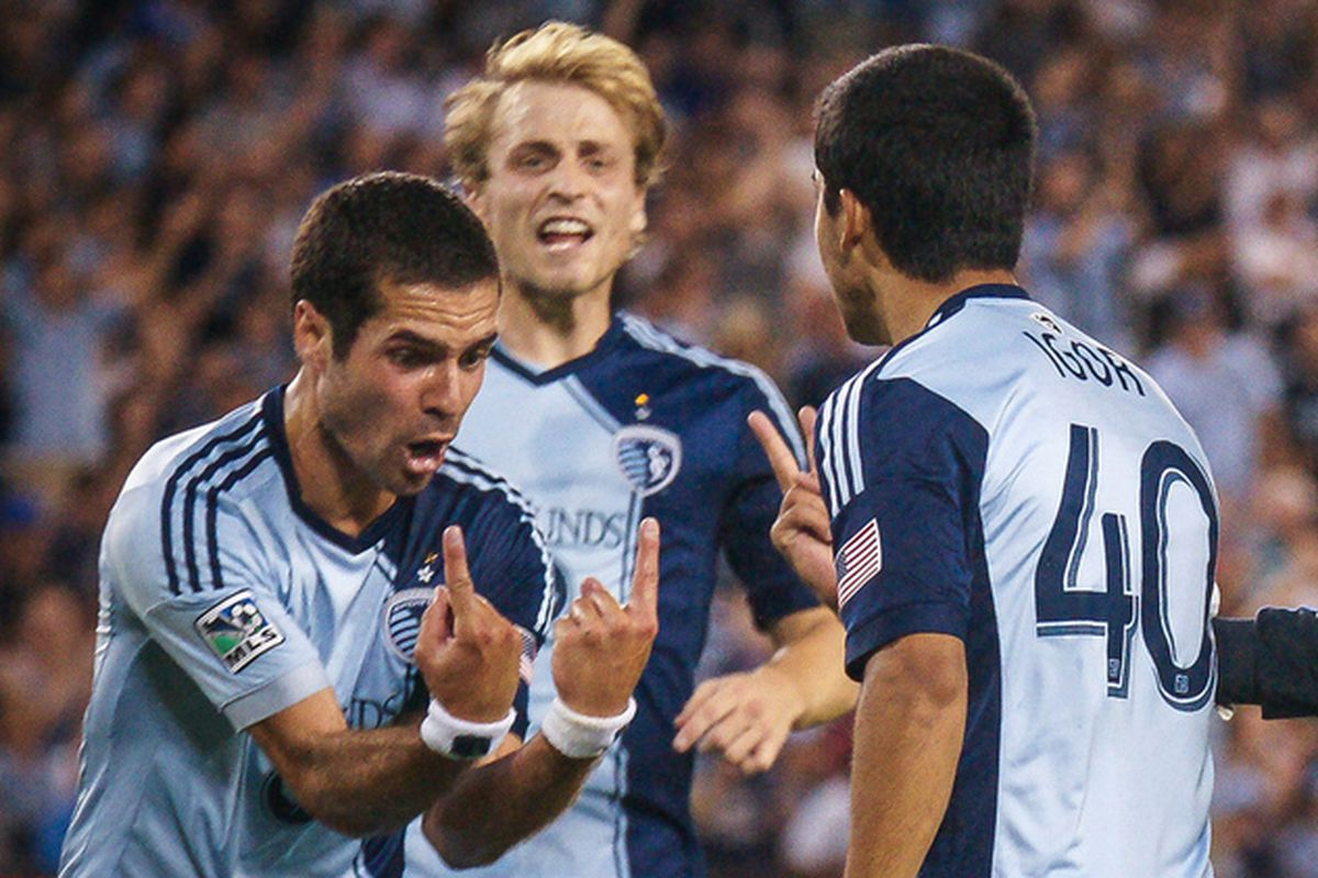 SKC's defense looked better but was still not up to expectations