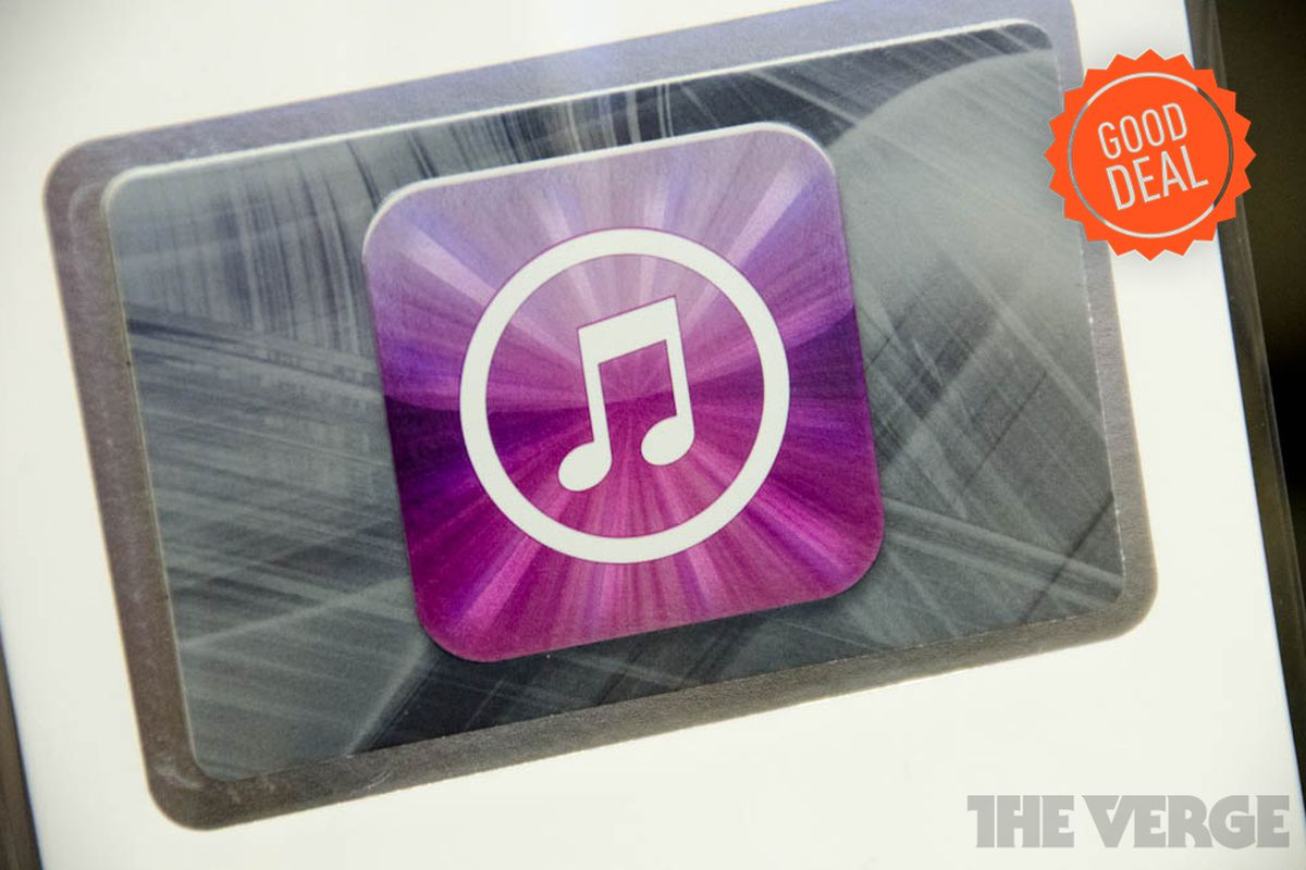 Good Deal: $100 digital Apple iTunes and App Store gift card