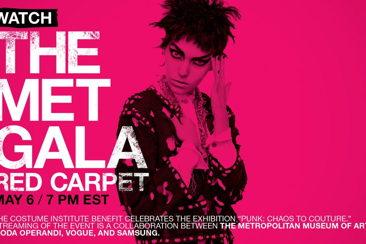 """Graphic via <a href=""""http://www.vogue.com/videos/met-gala-2013-red-carpet-live-stream/"""">Vogue</a>"""