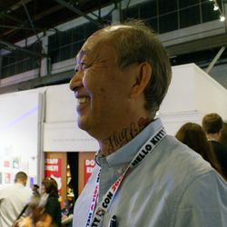 Even Sanrio's Senior Vice President, Ken Yamamoto, professed his love for Hello Kitty with a (temporary) tat.