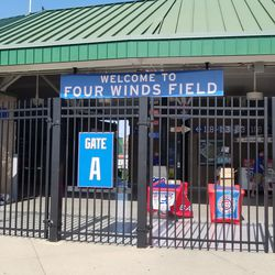 Exterior of Four Winds Field