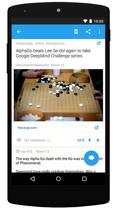 Reddit launches official apps for Android and iPhone - The Verge