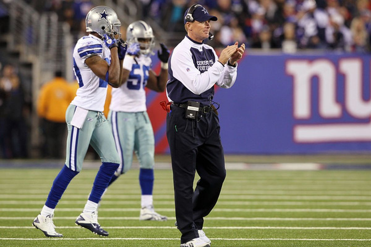 The first game of the season against the Giants is putting some unique pressure on Jason Garrett and the Cowboys.