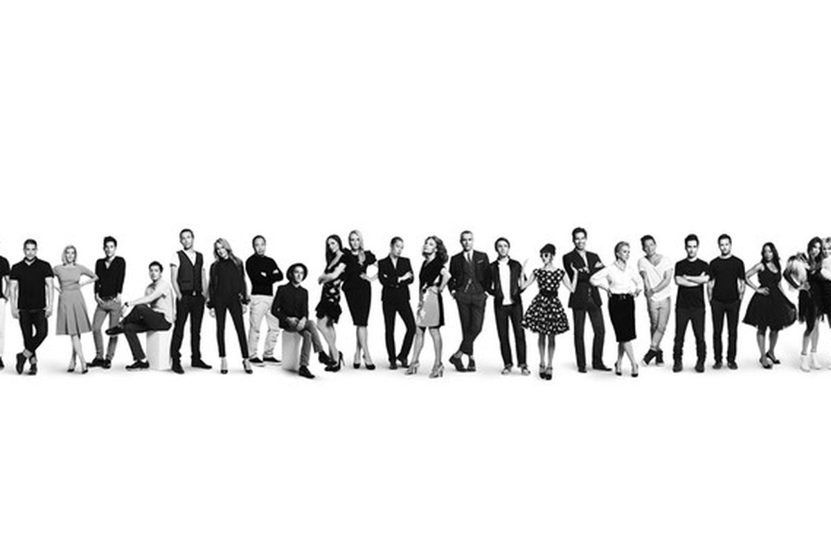 All 24 CFDA designers involved in the Target-Neiman holiday 2012 collaboration