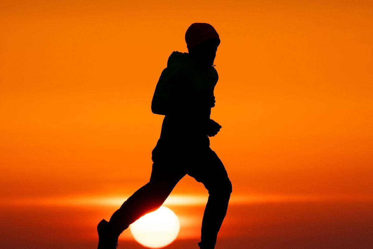 Irish 5,000m Champion Hino Tonosa training in isolation