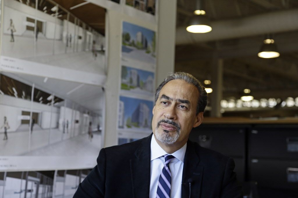 For architect Phil Freelon, the National Museum of African American History and Culture was a crowning triumph, yet its opening last year came amid a wrenching personal trial. (AP Photo/Gerry Broome)