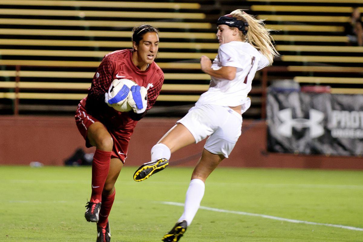 Gurveen Clair's saves in penalty kicks weren't enough.
