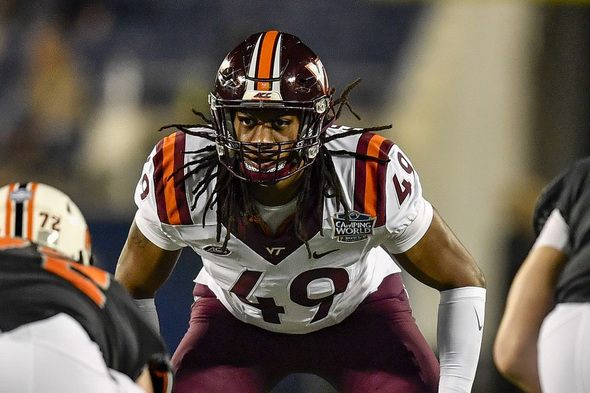 2018 NFL mock draft  Packers select Tremaine Edmunds to bolster defense f4639e464