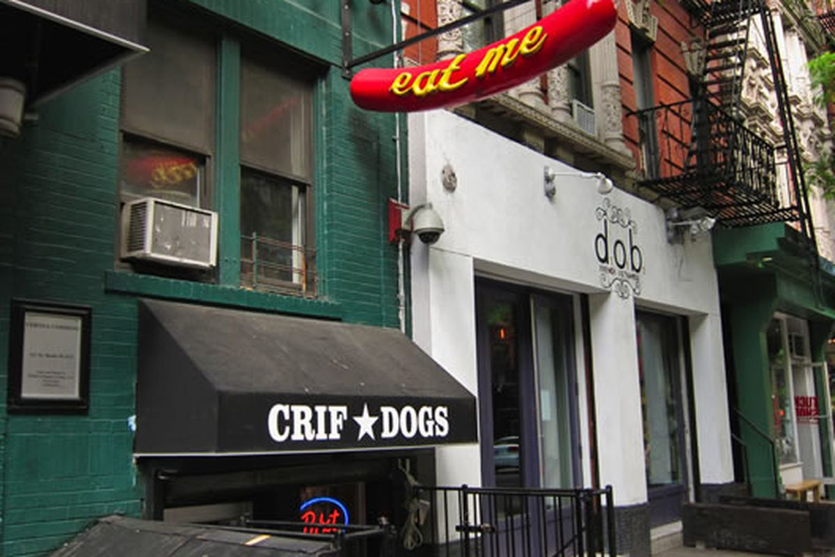 Crif Dogs, NYC