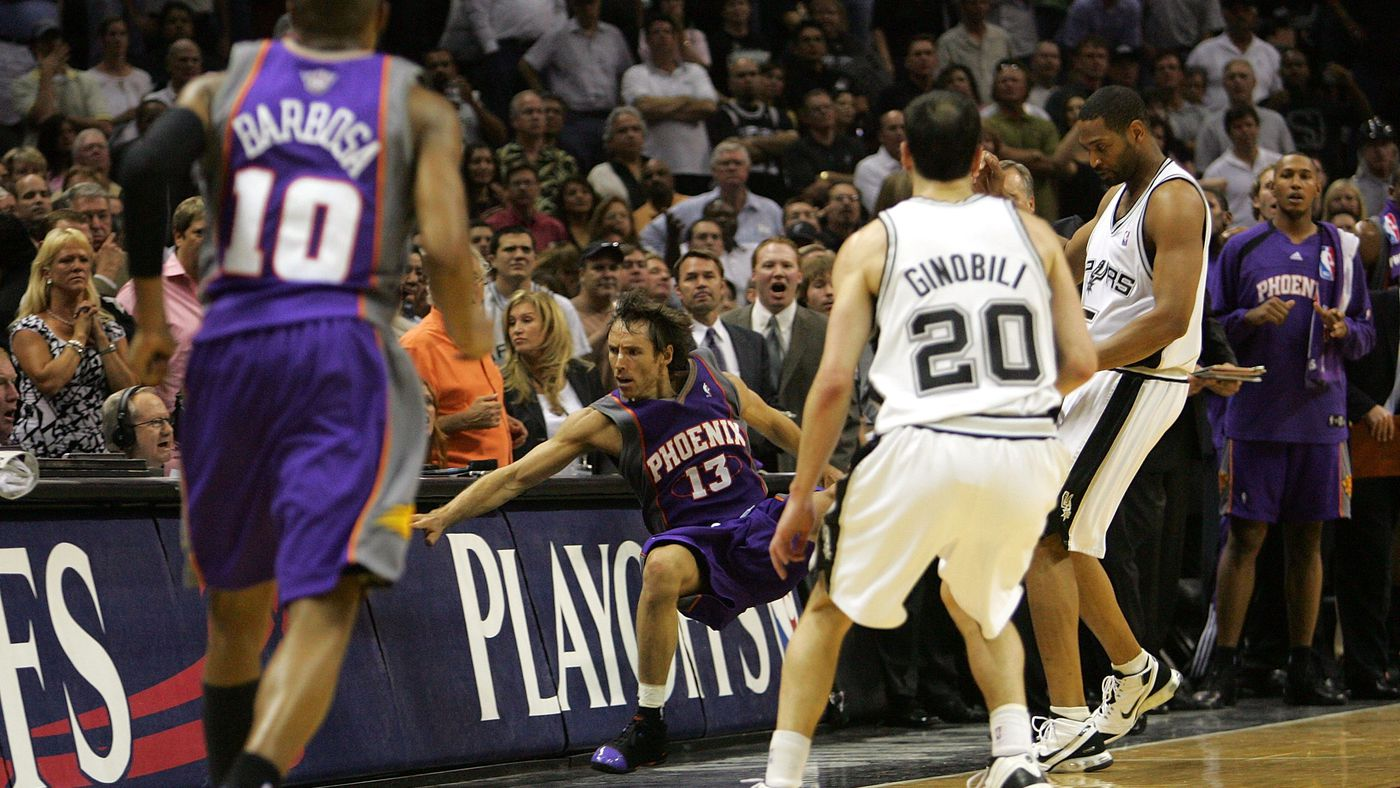 'Book of Basketball 2.0': Steve Nash on the Horry Shove, 2007's Heartbreak, and the 2004-10 Suns