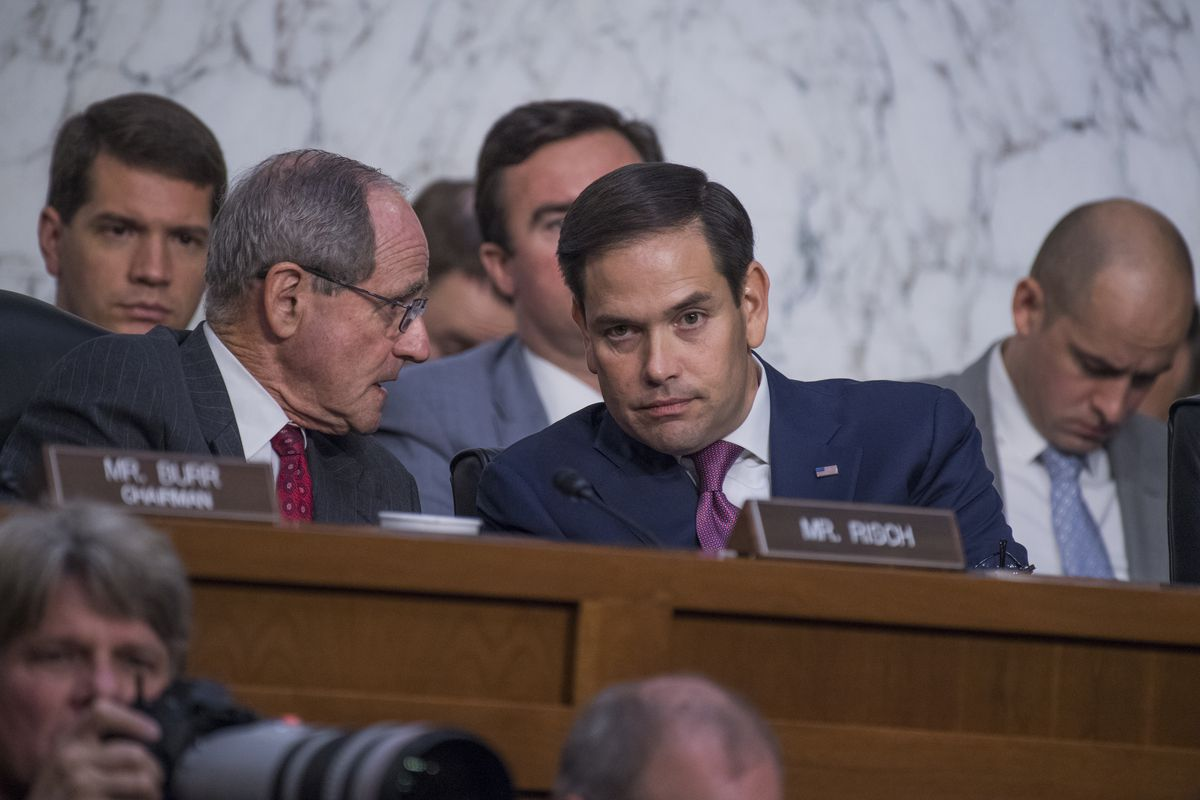 Sen. Marco Rubio (R-FL) was among those who asked James Comey why he didn't push back more forcefully against President Trump.