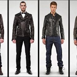 Mean in leather, soon on Mercer.