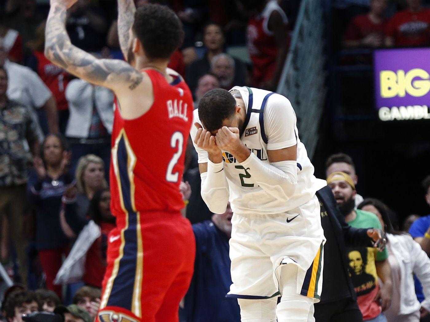 Utah Jazz N O Pelicans Again Subject Of Last Two Minute Report Drama Deseret News