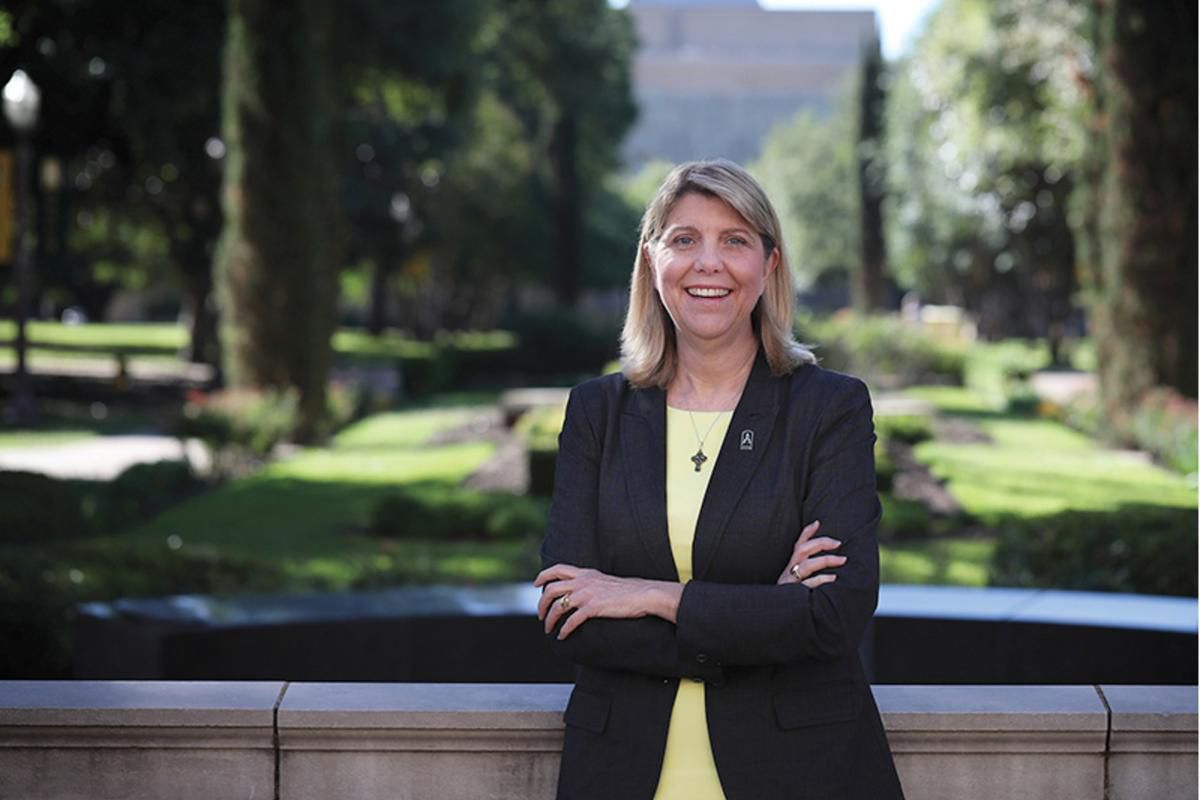 Linda Livingstone is the first female president in the 172-year history of Baylor University, the world's largest Baptist university. Despite a sexual assault scandal that resulted in Baylor parting ways with football coach Art Briles, athletic director I