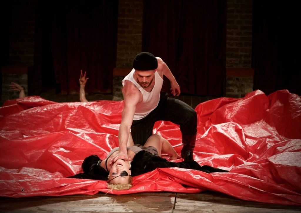 Belarus Free Theatre's King Lear, featured at Chicago Shakespeare Theater as part of Shakespeare 400 Chicago. (Photo: Nicolai Khalezin)