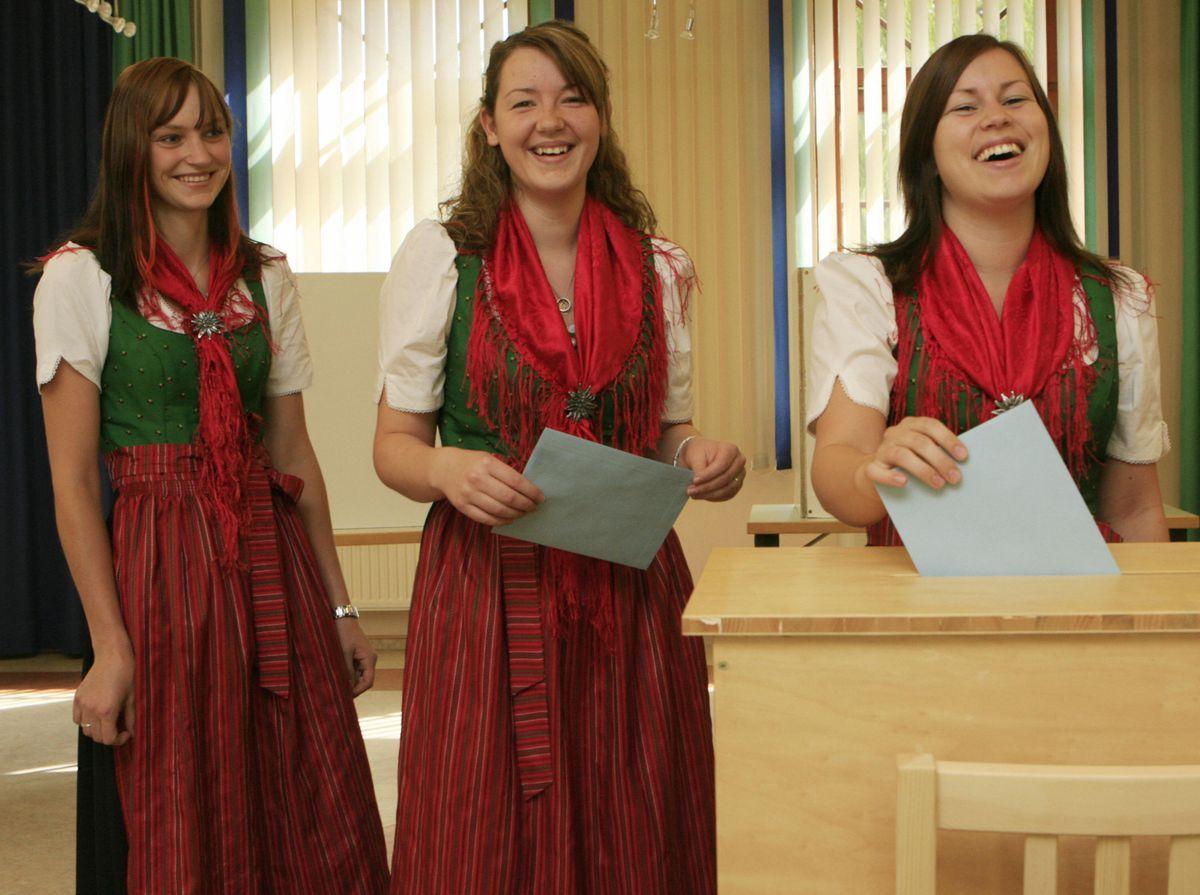 austrians voting