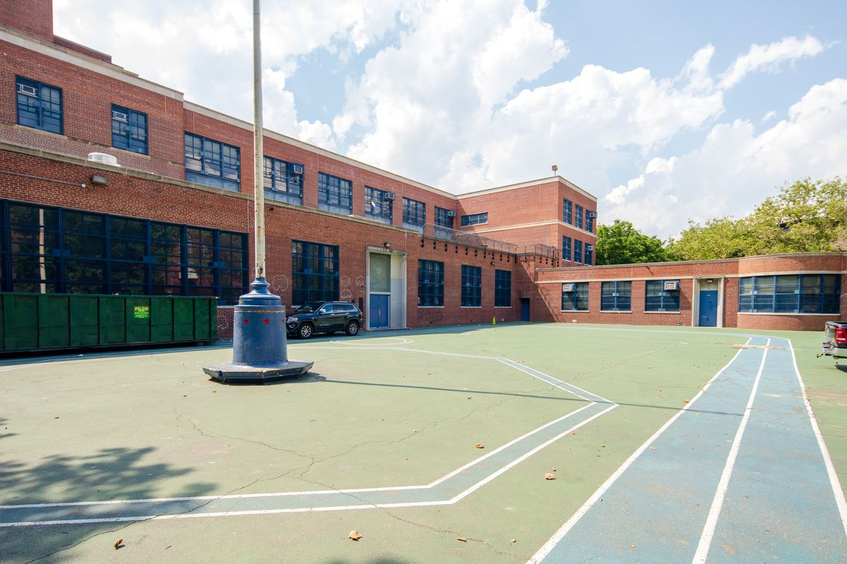 P.S. 20 The Clinton Hill School in Brooklyn.
