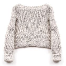 """<b>Wool & the Gang</b> Superbowl Sweater kit in checkers tweed, <a href=""""http://www.woolandthegang.com/en/articles/view/721"""">$150</a> at Refinery29's Tinseltown Bazaar"""