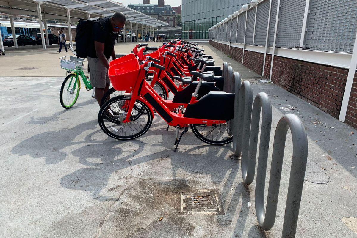 Staten Island dockless bikes
