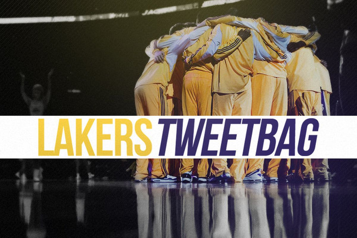 e9228782e769a Lakers Tweetbag: Kobe drops 5 pounds, Lakers adjusting to spacing with Kobe