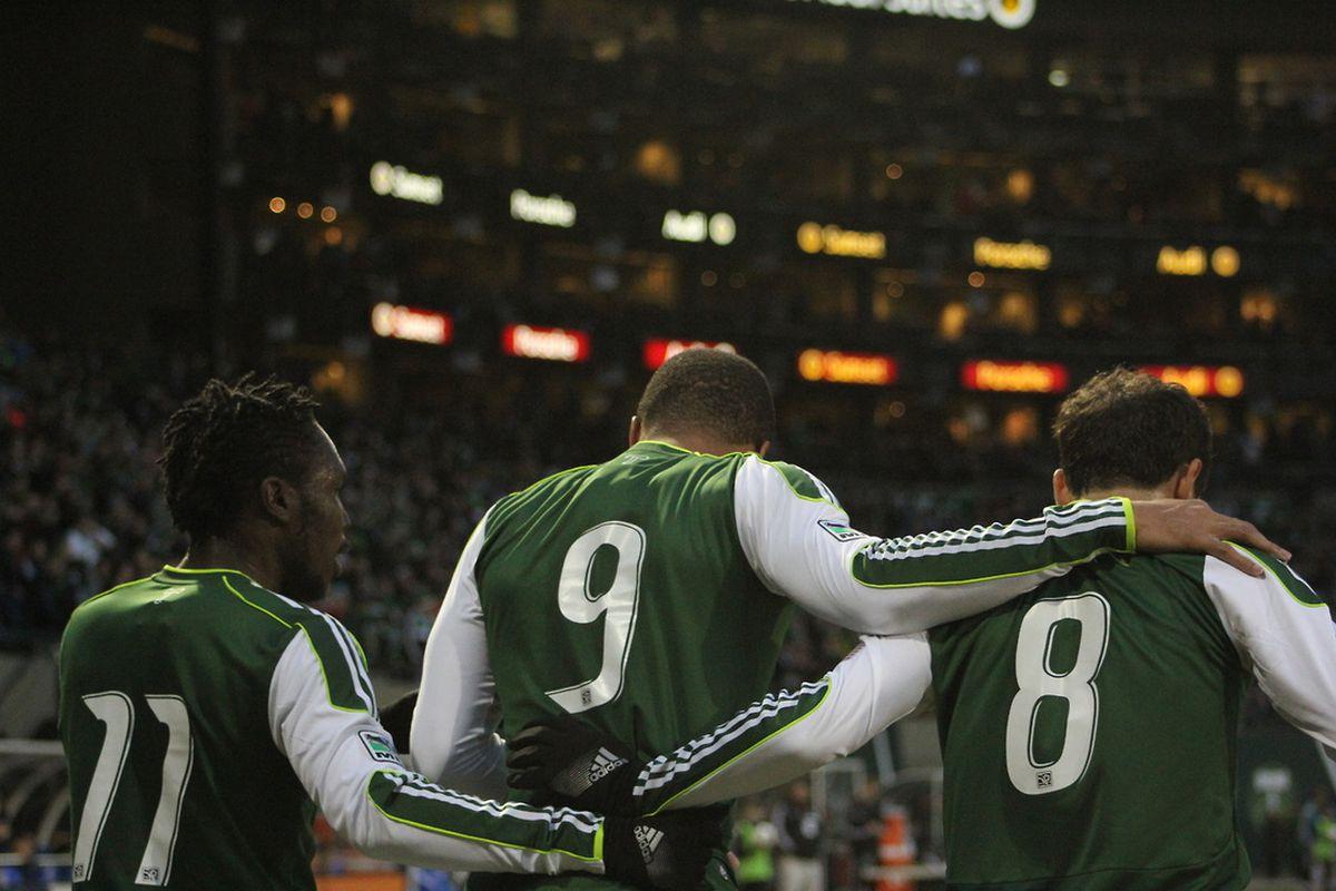 The three amigos.