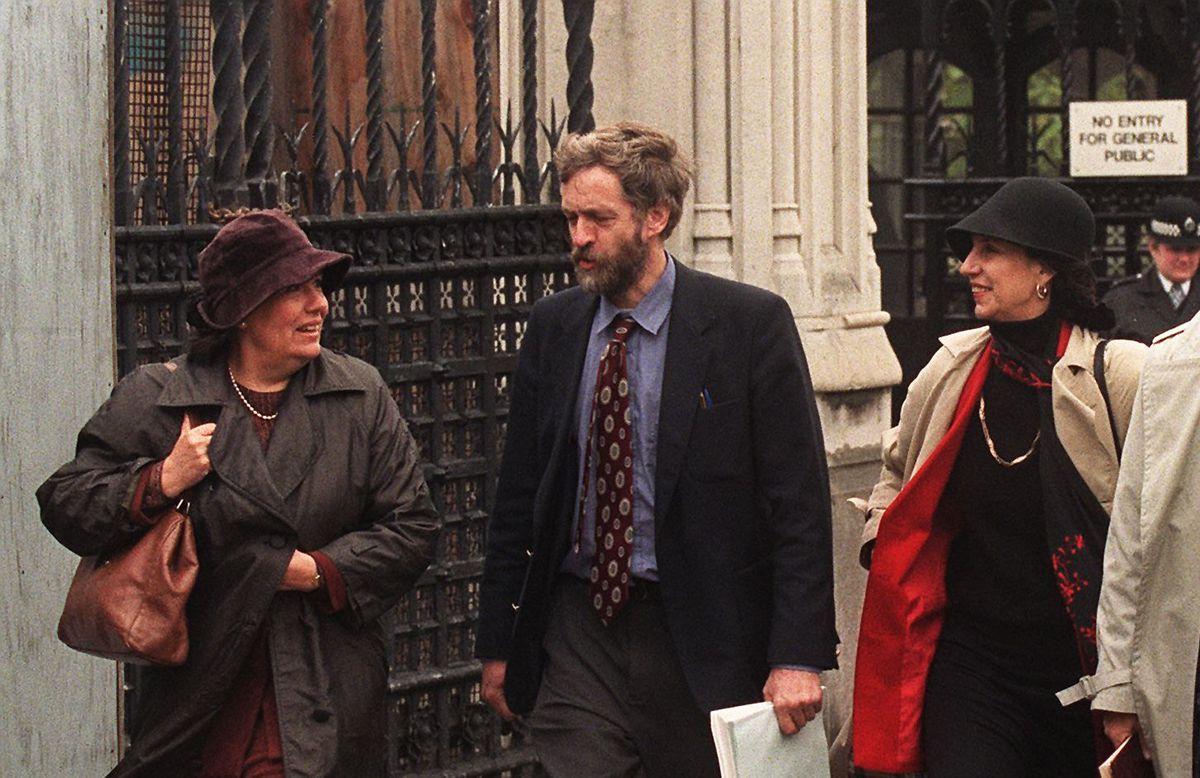 Jeremy Corbyn in 1998