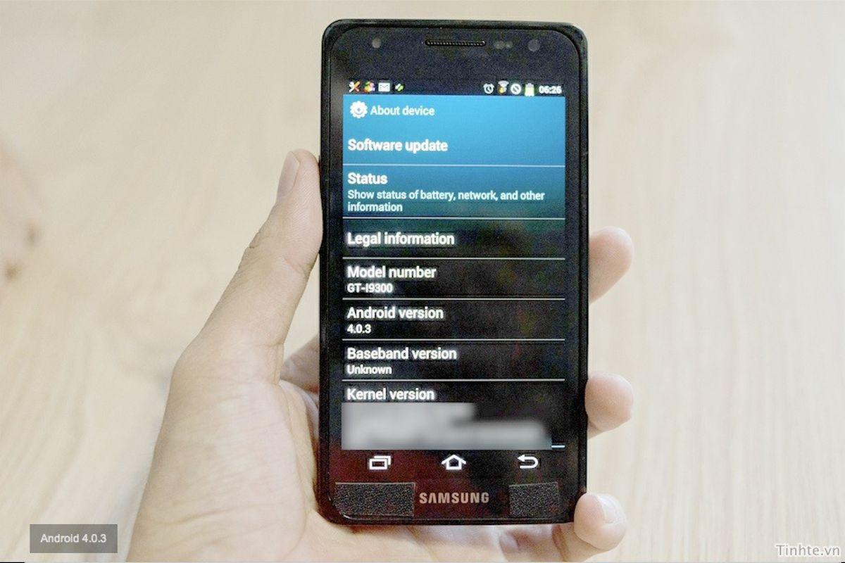 Leaked Galaxy S3 Tinhte
