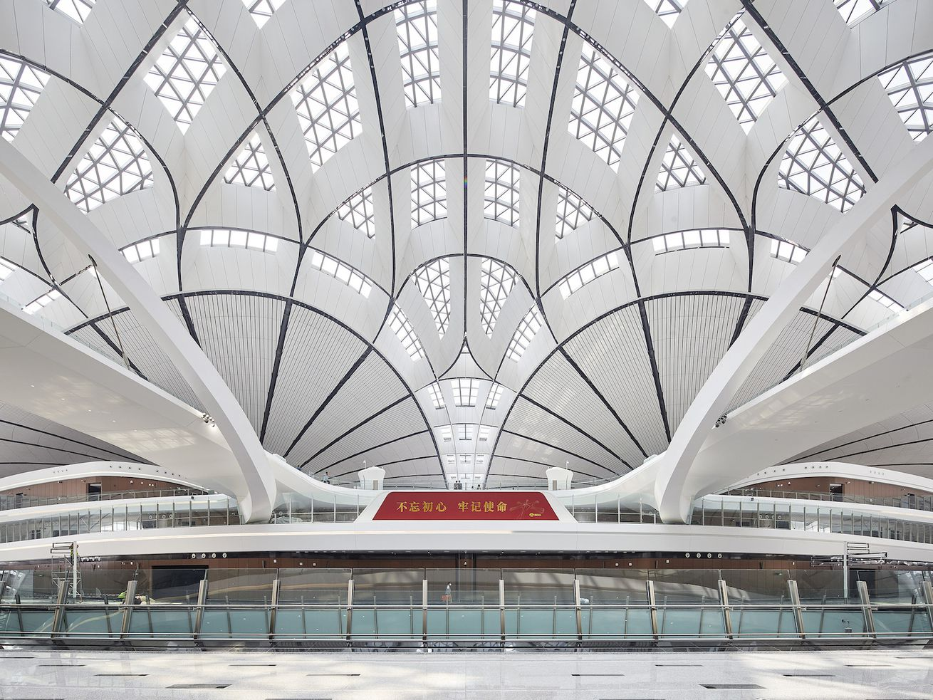 Zaha Hadid Architects? trippy new Beijing airport is now open