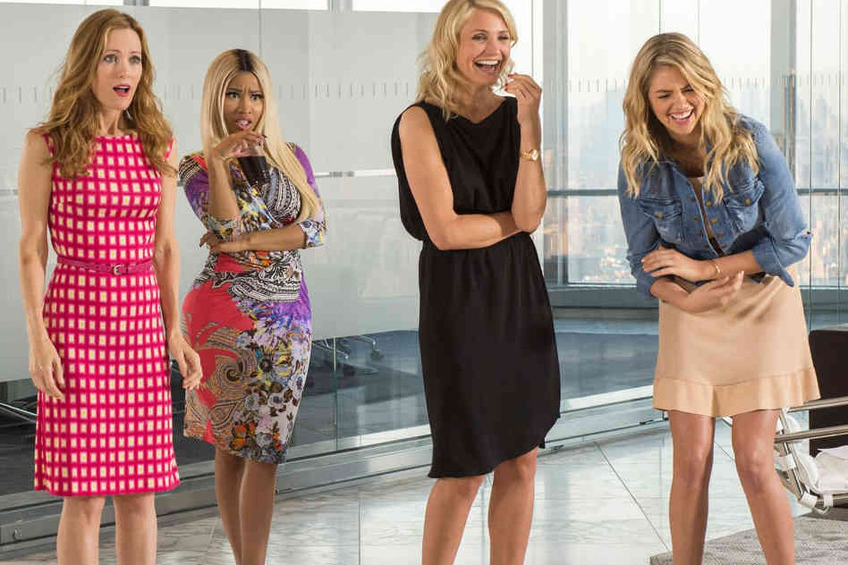The Other Woman passes the Bechdel Test, but barely