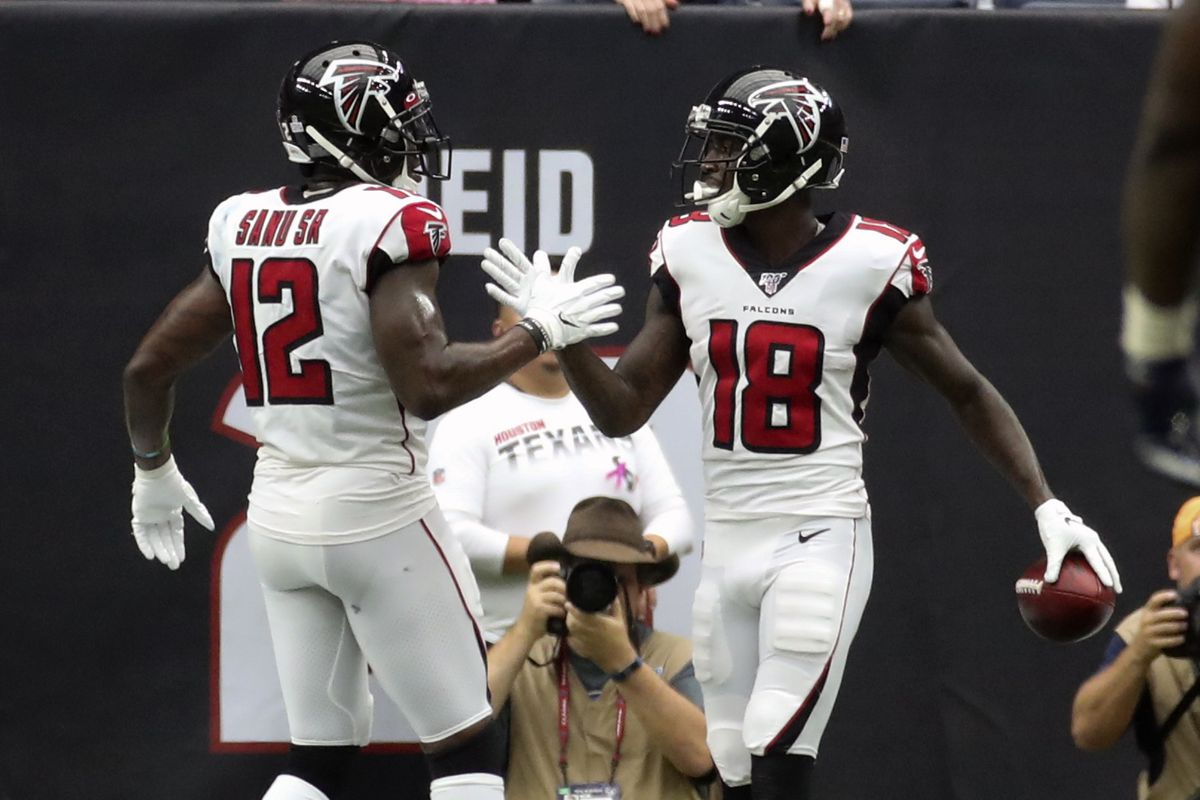 Fantasy Football Start Sit Advice Week 6 What To Do With Mohamed Sanu Calvin Ridley Draftkings Nation