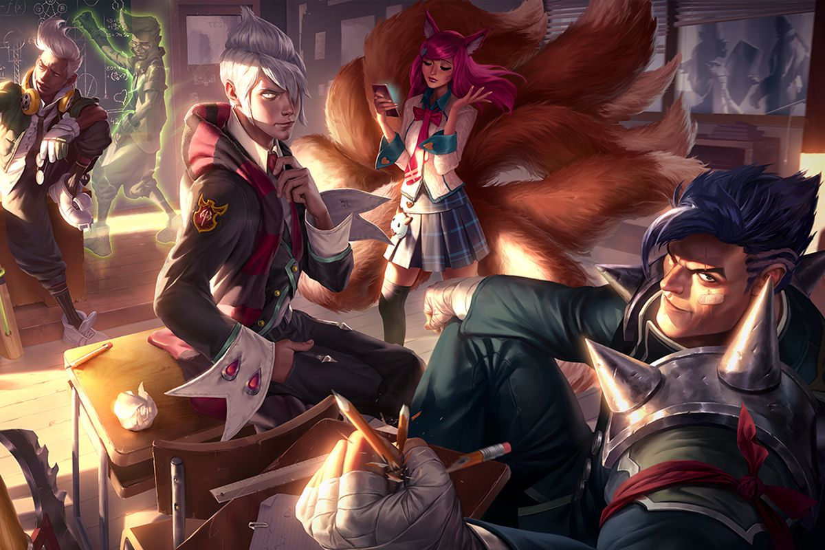 Riot and Tencent are reportedly working on a League of