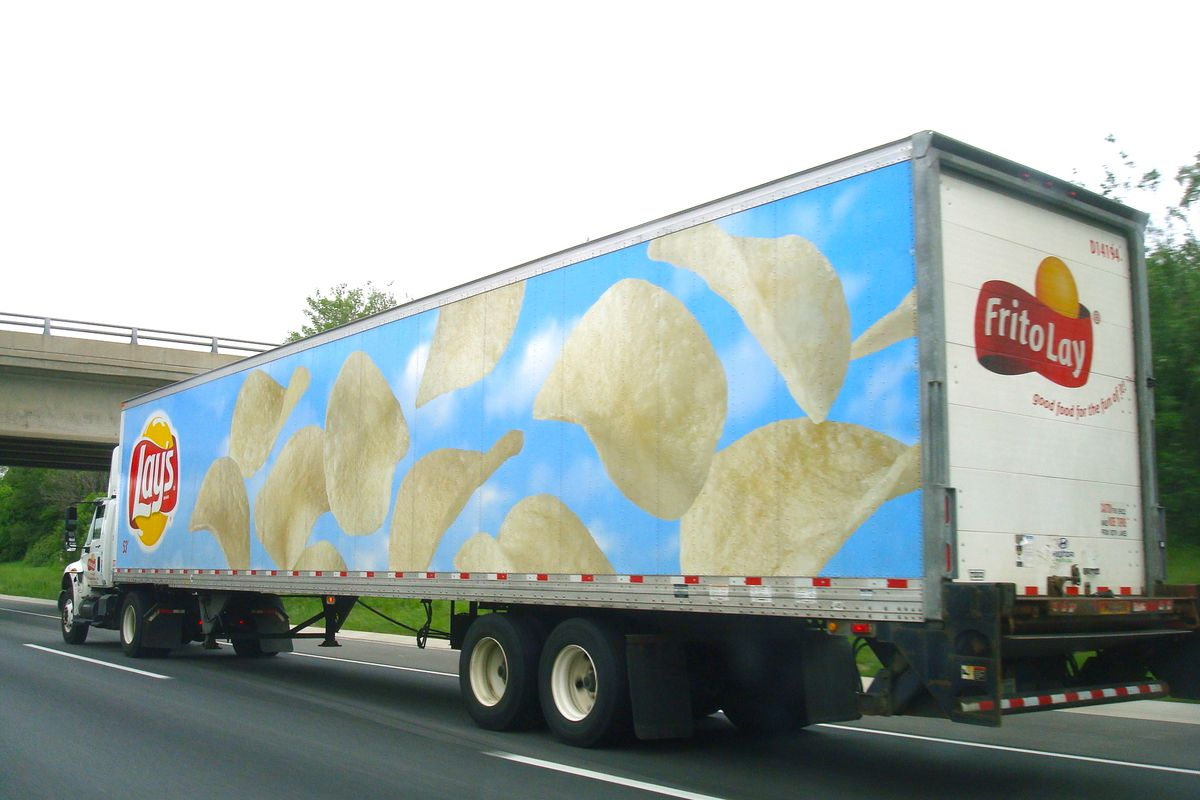 Image result for Lays truck