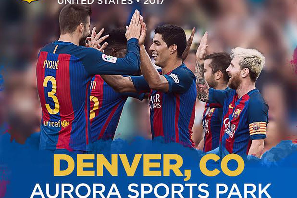 The Fc Barcelona Soccer Camp Is Coming To Denver This Summer