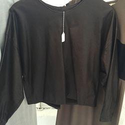 Long sleeve top, $85 (was $150)