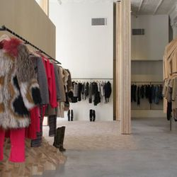 Isabel Marant's modern first US store.