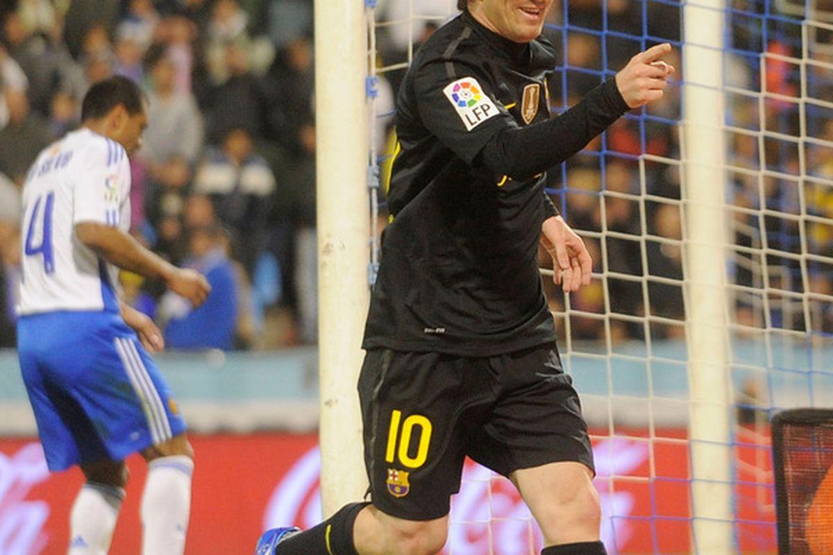 Our community MOTM for the second successive match - Lionel Messi
