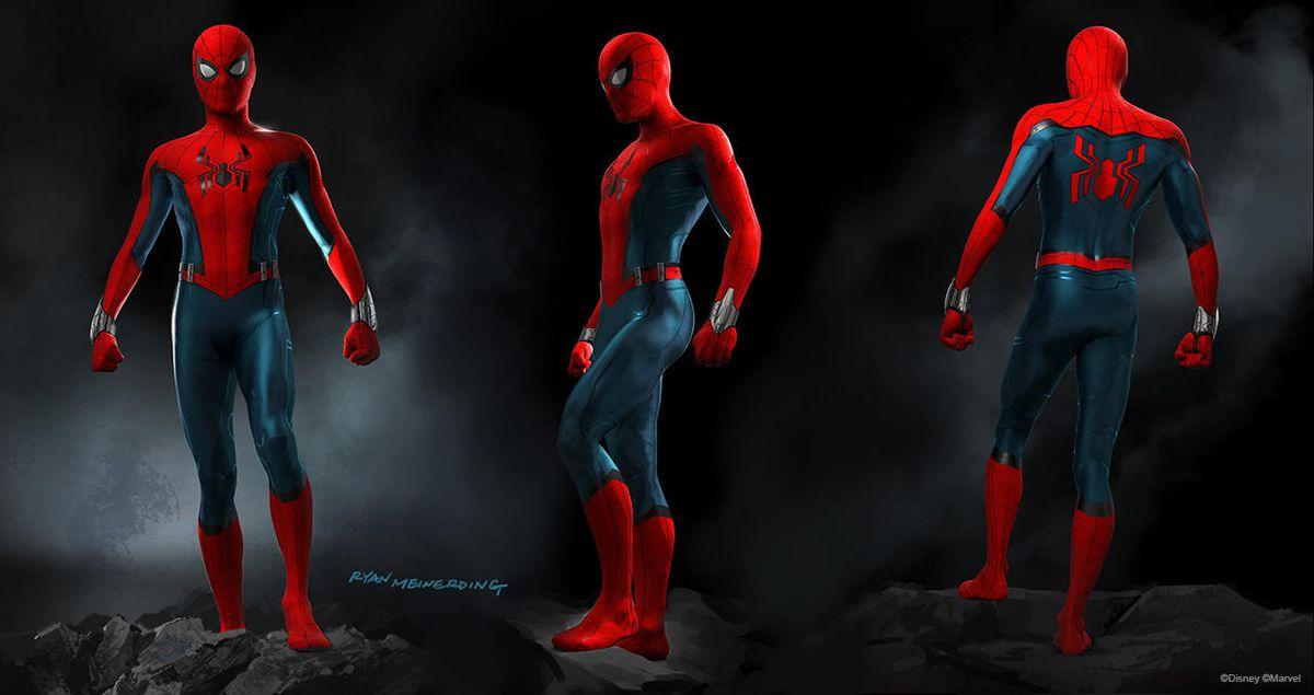 Ryan Meinerding's Spider-Man concept art for Disney Parks